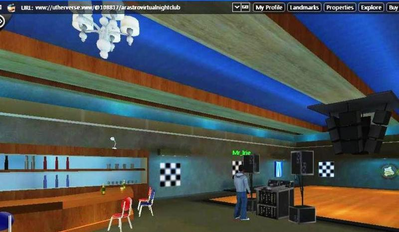 Arastro virtual night club
